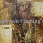 Original Arwork for Sale at Campbelltown Framing Gallery nude woman drinking