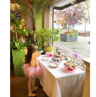 Gianna's Fairy Garden Birthday Party