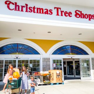Home Sweet HAUNTED Home with Christmas Tree Shops