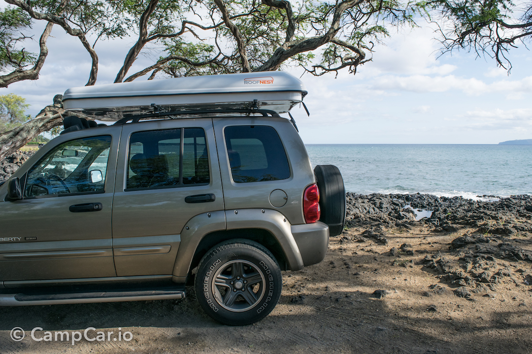 Available RVs; Maui 4x4 Jeep with Rooftop Tent & Jeep Camper Rental Maui by CampCar - CampCar - Maui Camper Rentals ...