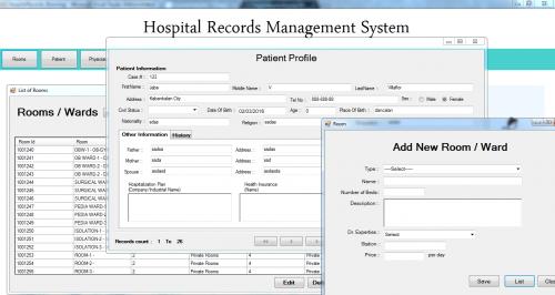 Hospital Record Management System