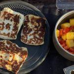 Griddled Halloumi & Mango Salsa