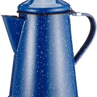 GSI GSI-15150 Blue Enamel Coffee Pot - 6 Cup