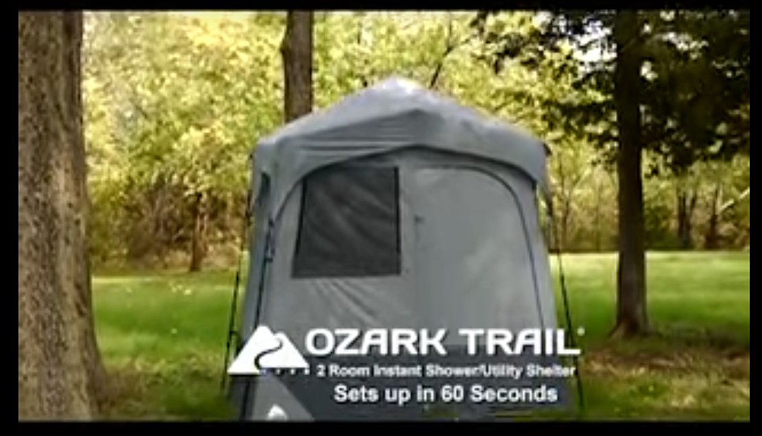 Ozark trail instant room shower changing shelter review