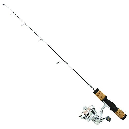 Frabill Fin-S Pro 30-Inch Medium Ice Fishing Rod and Reel Combo