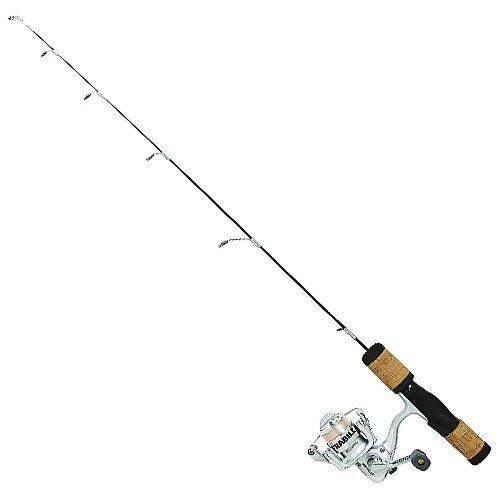 Frabill Fin-S Pro 30-Inch Medium Ice Fishing Rod and Reel Combo