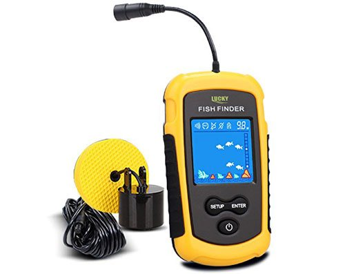 LUCKY Handheld Portable Fish Finders for Boats Fishing