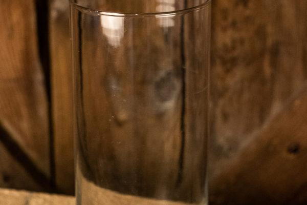 #7 Straight Glass Vase