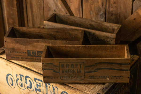 #20 Mini Wood Crates