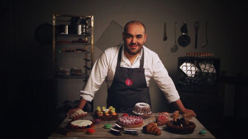 Alejandro Montes, chef pastelero de Mamá Franboise de Madrid