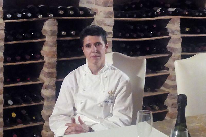 Estíbaliz Mekolalde, del hotel restaurante Castillo de Arteaga de Urdaibai