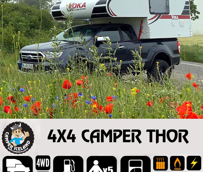 4×4 CAMPER THOR – NEW CATEGORY