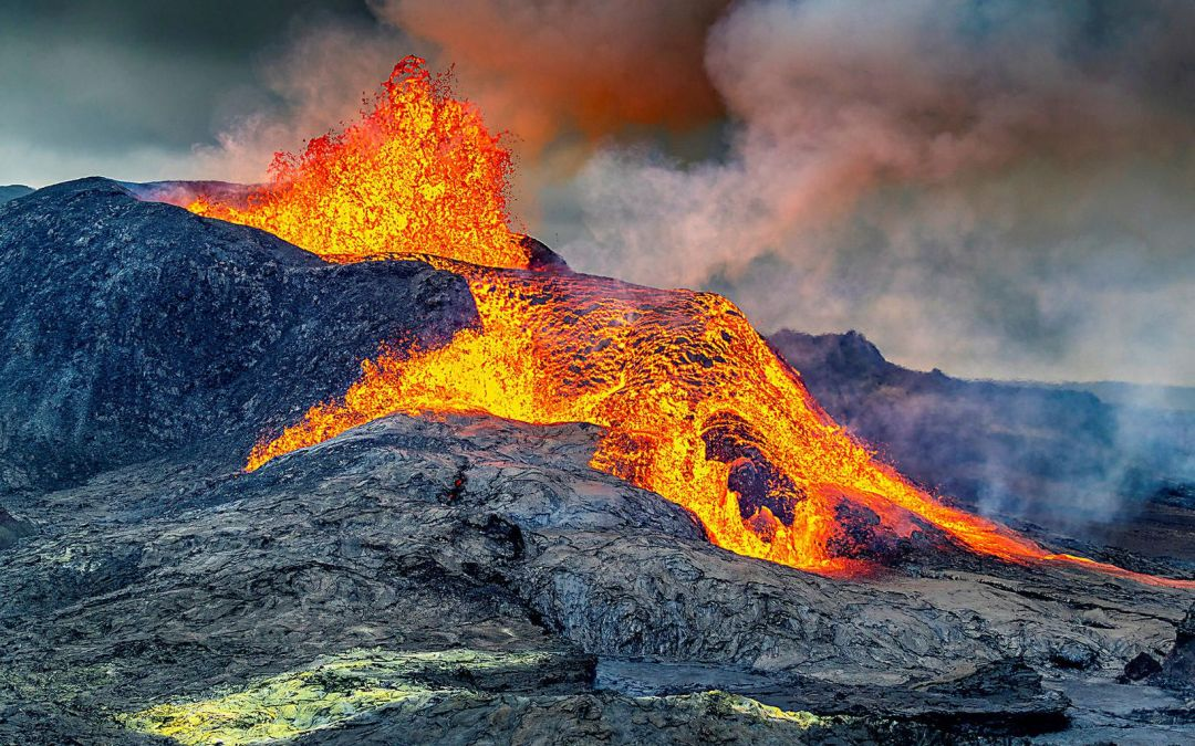 Volcano continues to be active