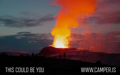 Volcano – what a show