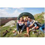 Camping Cuisinière extérieure 2 Spatule 2 Spatule Bol Équipement de Cuisine Pliant en Plein Air Ustensiles De Cuisine Sac en Maille 2-3 Personnes Portable en Aluminium Camping Sac À Dos Ustensiles De