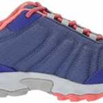 Columbia Fille Chaussures de Randonnée, Imperméable, CHILDRENS FIRECAMP SLEDDER II WP, Taille 26, Violet (Eve, Melonade)