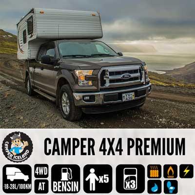 4x4 Camper Premium / 4x4 Camper 3 - Camper Iceland, Iceland