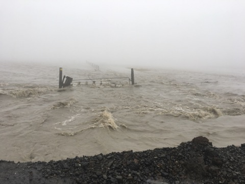 Flutkatastrophe im Osten von Island