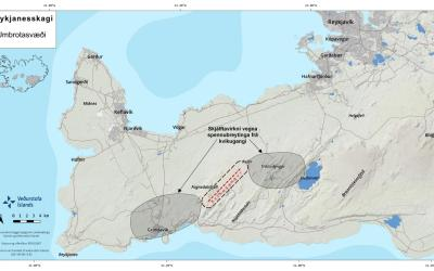 Iceland – Magma now 1Km from surface