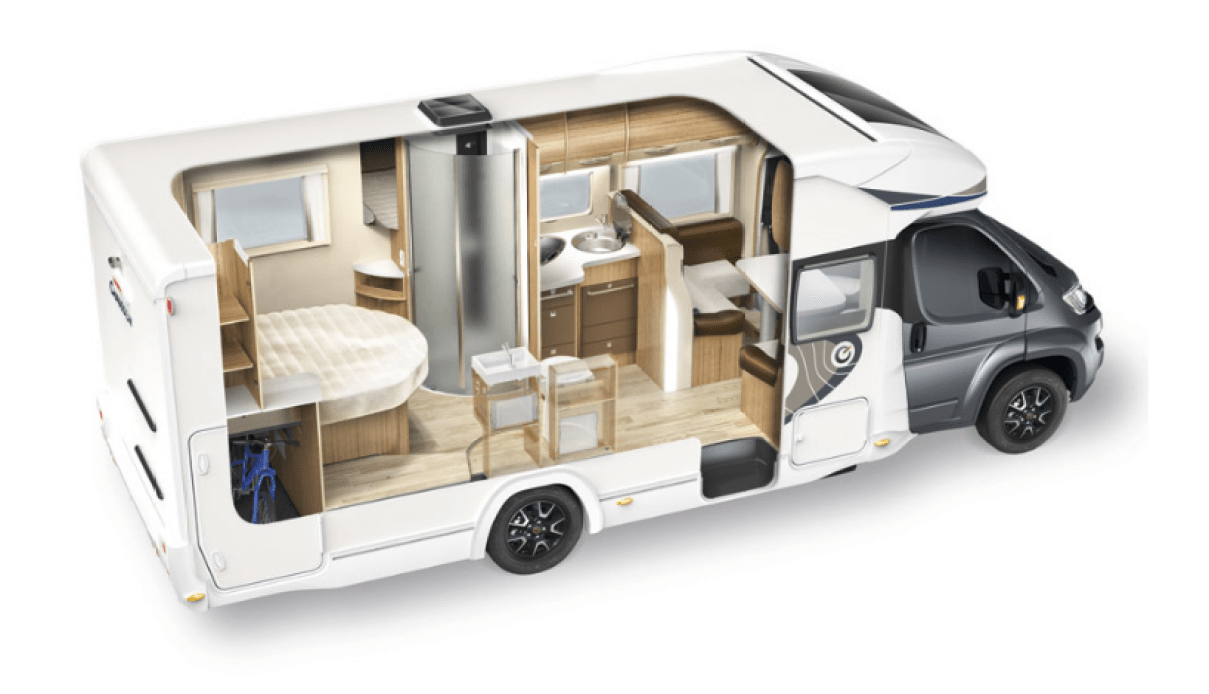 Afbeelding 3d Chausson 718 XLB Welcome 2016 campers noord