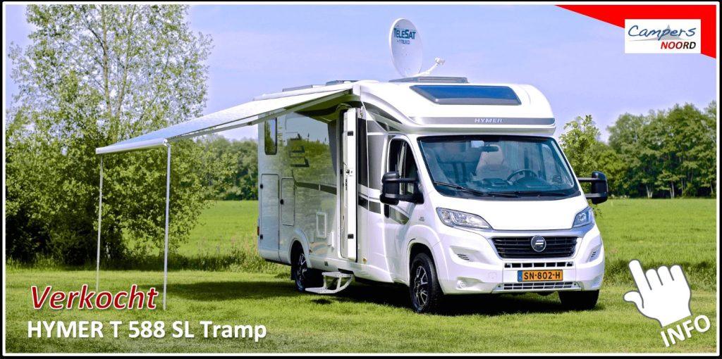 Hymer 588 SL Tramp Campers Noord
