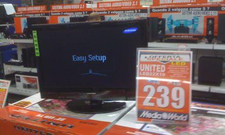 Tv in camper con gli LCD a 12 v