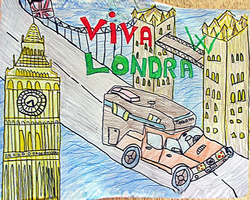 Federico Zucco 10 anni: W Londra!