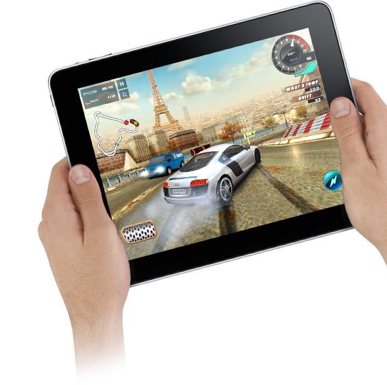 iPad sul camper
