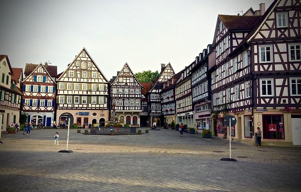 Le case a graticcio di Schorndorf