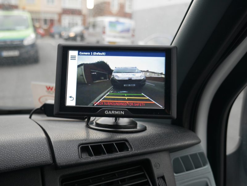 Installing a rear view camera and other safety devices to your motorhome can reduce the cost of your campervan insurance policy