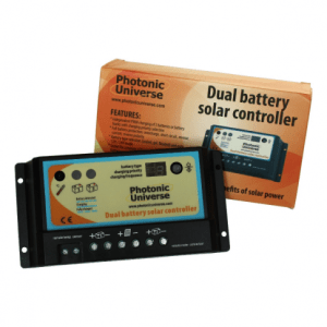 pwm solar controllers cost less than a mppt controller and as just as effective on smaller solar panels