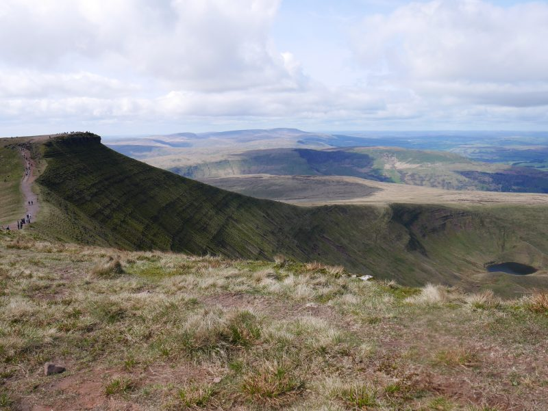 The perfect motorhome stop at the Brecon Beacons caravan and motorhome club site