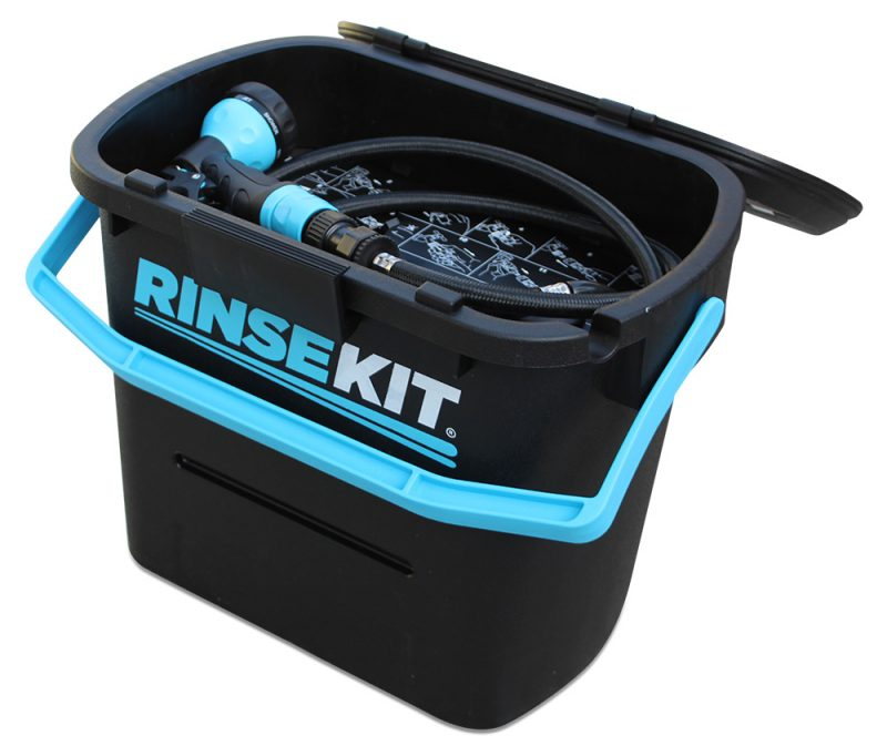 RinseKit - prefect for motorhomes and campervans whilst wild camping