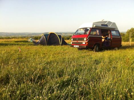 Paddington Farm Trust Campsite, Glastonbury