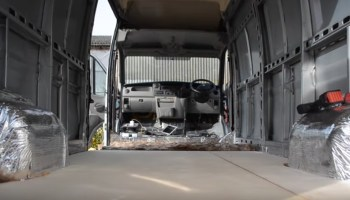 Our One Month Van Conversion Time Lapse Renault Master LWB