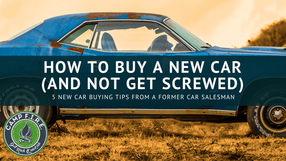 How To Buy A New Car