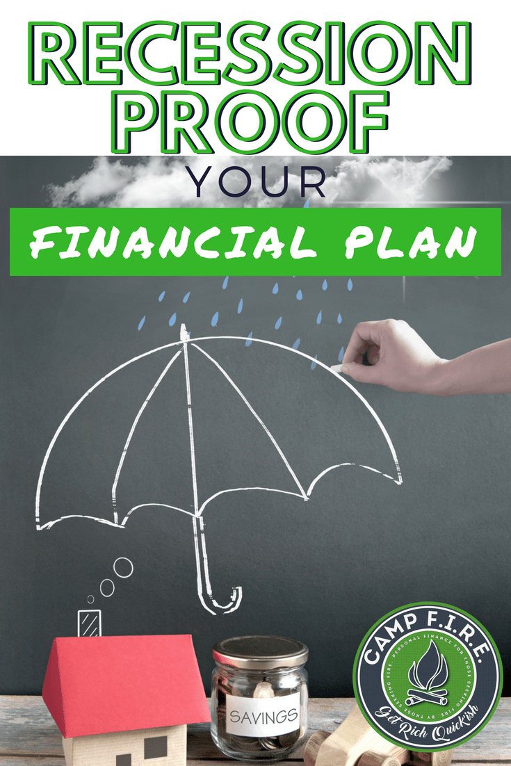 A Recession Proof Financial Plan needs to be part of your financial emergency plan. Learn what you can do today to prepare for the next #Recession, getting #laidoff and becoming #unemployed, or even losing hours at work and making less money each paycheck. The time to prepare is now.