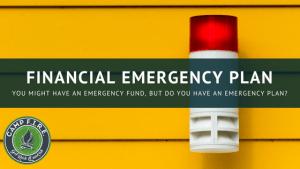 financial emergency plan
