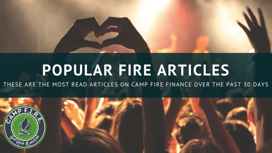 Personal Finance FIRE Articles