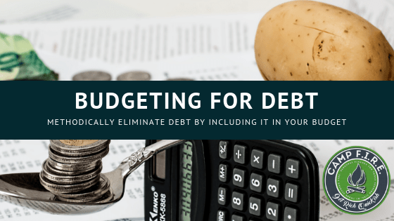 Budgeting for debt
