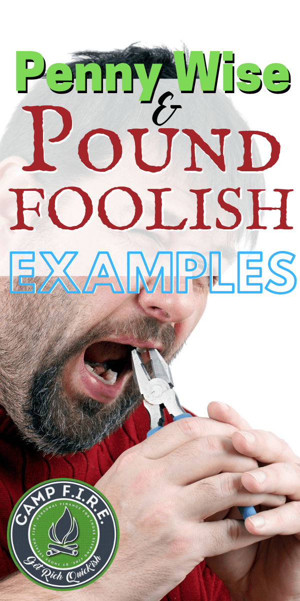 #PennyWisePound Foolish examples are everywhere. You're probably guilty of being #PennyWiseAndPoundFoolish yourself. Check out these examples to see if you've falling for short term gain and long term pain.