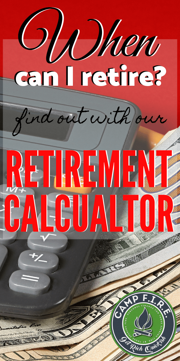 When Can I Retire is a difficult question because the answer is different for everyone, but our #retirementcalculator gives you a pretty good idea. Give it a try if you're wondering when you can #retire