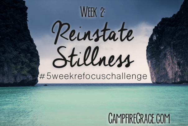 reinstate stillness