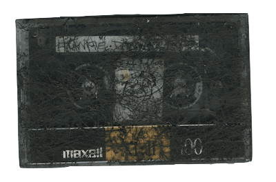 """Frank Dammit"" Mixtape by Var Thelin (circa 1991)"