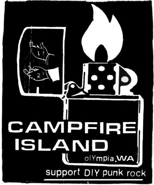 Campfire Island Lighter Logo
