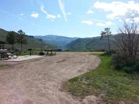 Stagecoach State Park Pull Thru RV Site