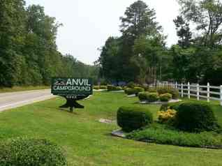 Anvil Campground in Williamsburg Virginia