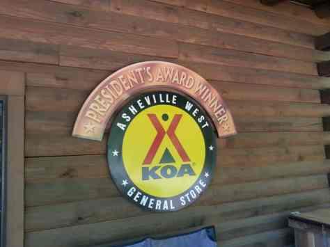 Asheville West KOA in Candler North Carolina02