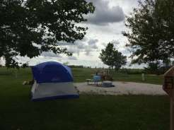 Brushy creek tent site