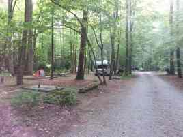 Cataloochee Campground in Great Smoky Mountains National Park near Waynesville North Carolina3